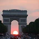 Arc de Triomphe by Kathleen Hill