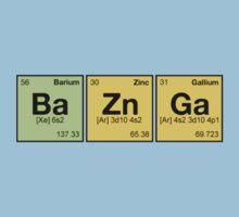 Ba Zn Ga! - periodic elements scrabble Kids Clothes