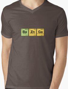 Ba Zn Ga! - periodic elements scrabble Mens V-Neck T-Shirt
