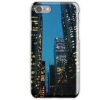 bright city lights iPhone Case/Skin