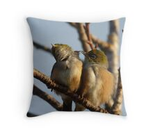 I've Got it.. Hang in there! - Silvereye - Wax Eye - New Zealand Throw Pillow