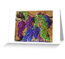 Festival of Grapes Greeting Card