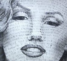 Marilyn detail by Katy Baur