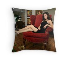 """Bella Says """"Time Out"""" Throw Pillow"""