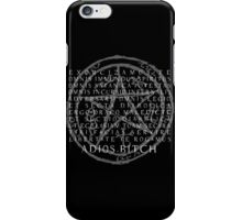 Supernatural - Exorcism, Adios B*tch iPhone Case/Skin