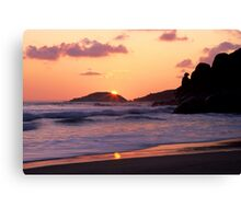 Whisky Bay Sunset Canvas Print