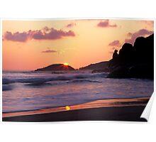 Whisky Bay Sunset Poster