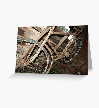 Left to hang Greeting Card