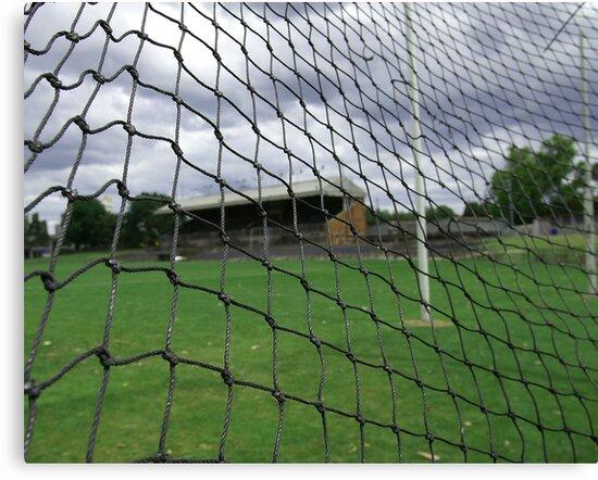 Arden street,North Melbourne, Football Ground by Rosina  Lamberti
