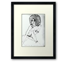 Marsha Hunt. Framed Print