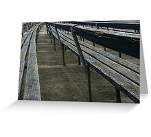 Arden street,North Melbourne, Football Ground Greeting Card