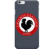 Black Rooster Italy Chianti Classico  iPhone Case/Skin