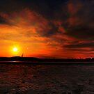 Fire Island Sunset by Peter Bellamy