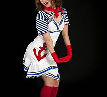 Sexy female sailor  by PhotoStock-Isra