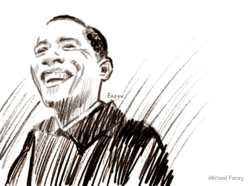 Obama by Michael Facey