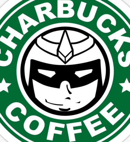 Charbucks Logo Sticker