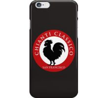 Black Rooster San Francisco Chianti Classico  iPhone Case/Skin