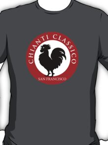 Black Rooster San Francisco Chianti Classico  T-Shirt