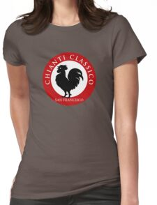 Black Rooster San Francisco Chianti Classico  Womens Fitted T-Shirt