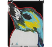 Penguin /black iPad Case/Skin