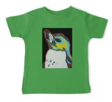 Penguin /black Baby Tee