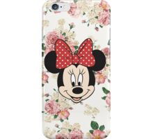 Vintage Minnie Mouse iPhone Case/Skin