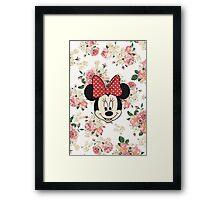 Vintage Minnie Mouse Framed Print