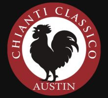 Black Rooster Austin Chianti Classico  Baby Tee