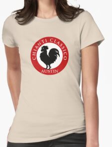 Black Rooster Austin Chianti Classico  Womens Fitted T-Shirt