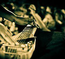 Gavin Hayes Slide Guitar  by aarnoldphoto
