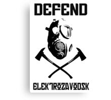 Defend Elektro Dayz  Canvas Print
