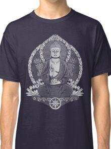 Gautama Buddha White Halftone Classic T-Shirt
