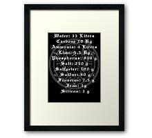 FMA Transmutation Framed Print