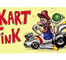 Kart Fink Big Bro! by AvedonArcade