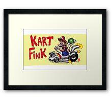 Kart Fink Big Bro! Framed Print