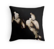Terracotta Warriors Throw Pillow