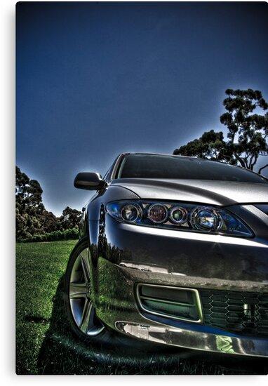 Mazda 6 by Jonathan Yeo