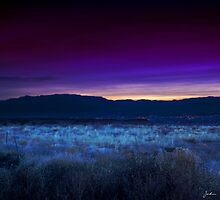 Sunrise Over The Sandia Range by John  De Bord Photography