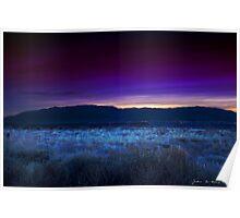 Sunrise Over The Sandia Range Poster