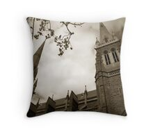 St Patrick's Cathedral Melbourne Throw Pillow