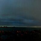 Thunderheads over Island Bay by Evan F.E. Lole