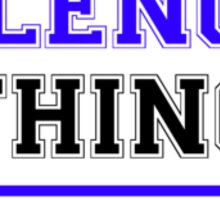 It's a PALENCIA thing, you wouldn't understand !! Sticker