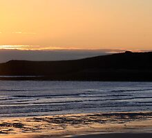 Sun Up, Dunstanburgh Castle by fenster