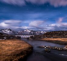 Hot Creek Bridge by Cat Connor
