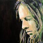 David Gilmour by Karen Yee