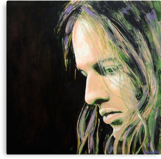 David Gilmour by Karen Yee