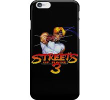 Streets of Rage 3 (Genesis) Axel iPhone Case/Skin