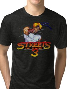Streets of Rage 3 (Genesis) Axel Tri-blend T-Shirt