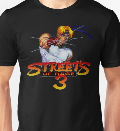 Streets of Rage 3 (Genesis) Axel Unisex T-Shirt