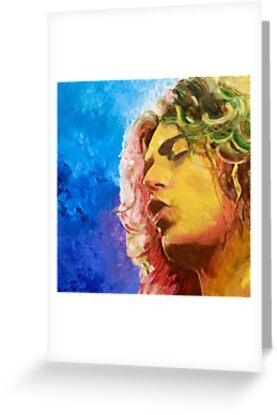 Robert Plant by Karen Yee